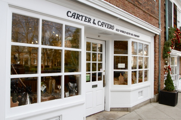 Carter & Cavero on Palmer Square in Princeton