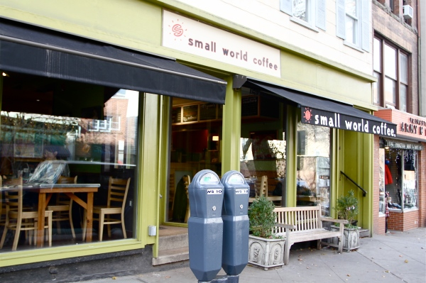 Small World Coffee in Princeton on Witherspoon Street