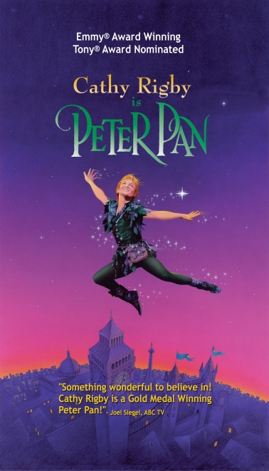 Cathey Rigby in Peter Pan Poster 2005