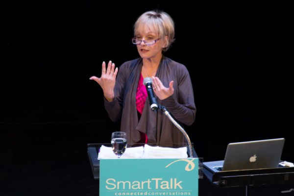 Cathy Rigby at the State Theatre in New Brunswick, NJ for SmartTalk