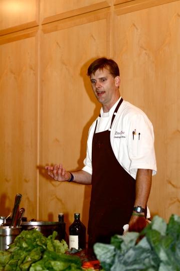 Princeton Eats at Princeton Library with Eno Terra Chef Christopher Albrecht