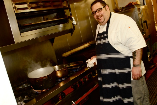 Chef Evan Blomgren of Rocky Hill Inn