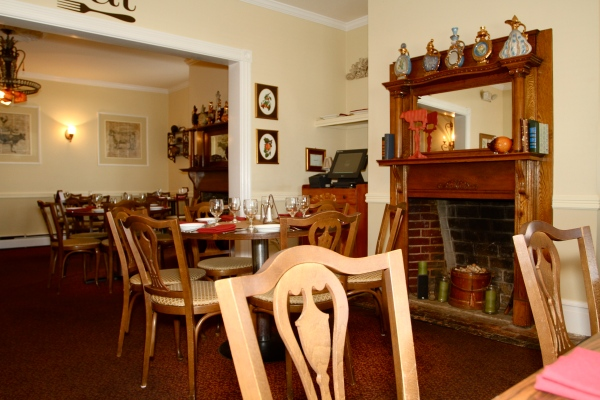 Dining Room of the Rocky Hill Inn