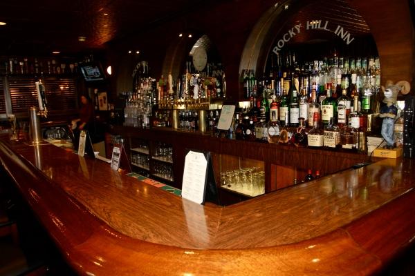 Bar of the Rocky Hill Inn