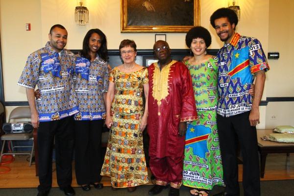 Shungu Family At 4th Annual UFAR African Soiree