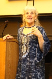 Elsie McKee at the UFAR African Soiree