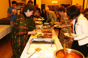 4th Annual UFAR African Soiree Food