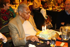 Former Princeton Township Mayor James Floyd's 91st Birthday