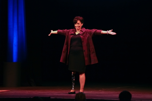 Bonnie St. John at State Theatre for SmartTalk - ITM Photos
