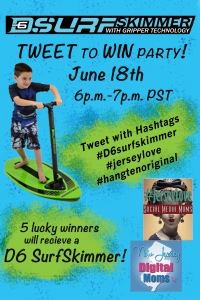 D6 SurfSkimmer Twitter Party Raffle