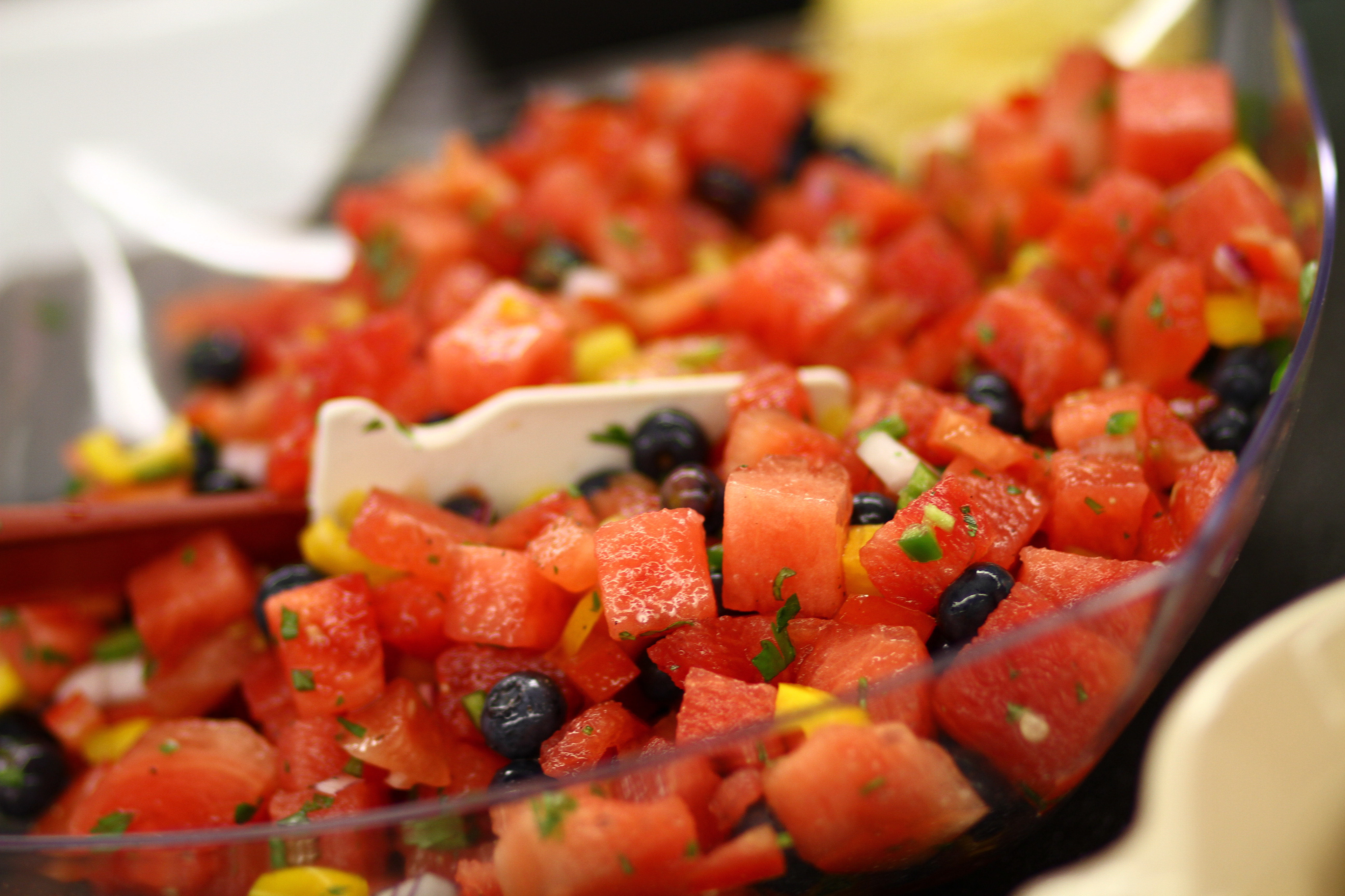 Watermelon Blueberry Salsa by Chef Mary Beth Madill, Mrs. Gs Appliance ...