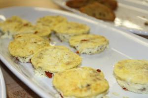 Terra Learning Kitchen crustless quiche