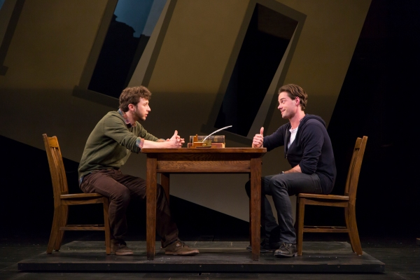 Adam Green and JD Taylor in The Understudy at McCarter