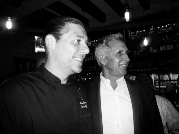 Executive Chef Christian Graciano with JM Group President and Owner Jack Morrison