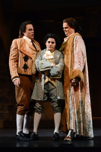 The Princeton Festival - Le Nozzi di Figaro - The Marriage of Figaro with Jonathan Lasch as Figaro, Cassandra Zoé Velasco as Cherubino, Sean Anderson as Count Almaviva