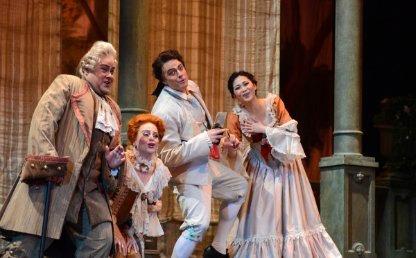 The Princeton Festival - Le Nozzi di Figaro - The Marriage of Figaro with Ricardo Lugo as Bartolo, Kathryn Krasovec as Marcellina, Jonathan Lasch as Figaro, Haeran Hong as Susanna