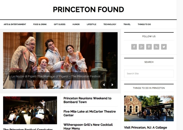 Princeton Found Homepage